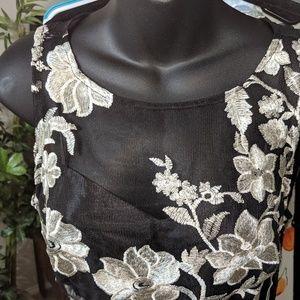 Black evening dress sz6